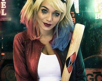 "AshCosplay Harley Quinn A4/ 8""x12"" Signed Print"