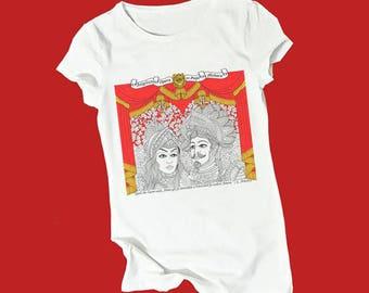 t-shirt Angelica e Medoro