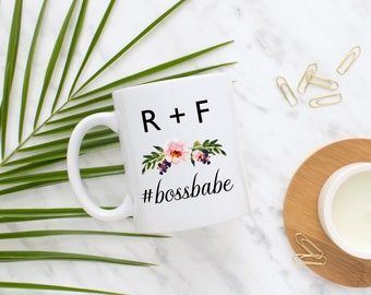 Rodan and Fields Boss Babe Mug, R + F Mug, Girl Boss, Boss Babe, Entrepreneur, Distributor, Rodan and Fields Gift, Present, Skincare, Custom