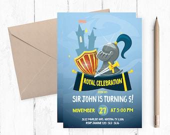 Knight Birthday Party, Knight Party, Knight Birthday, Knight Royal Party,  Royal Party, Royal Birthday Party, Birthday Invitations, birthday