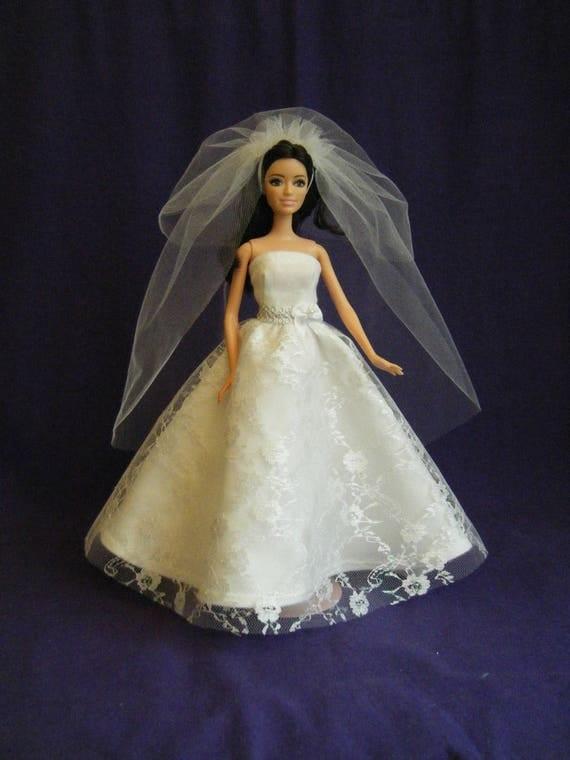 Barbie Wedding Dress barbie wedding gown barbie clothes