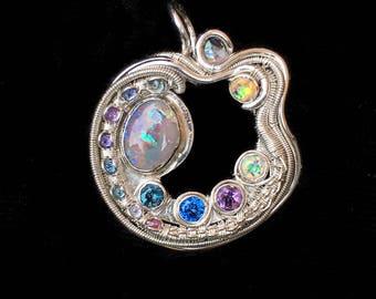 Opal Cresent Moon