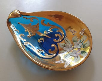 Hand-Painted Ash Tray