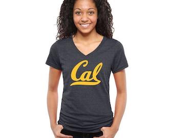UC Berkeley Cal Bears ladies v-neck tee