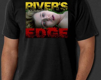 River's Edge 1986 Keanu Reeves Underground Cult New T-shirt S-6XL