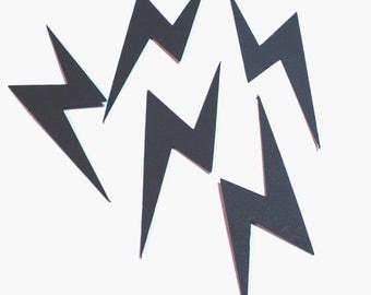 Lightning Bolt Die Cuts Set of 20