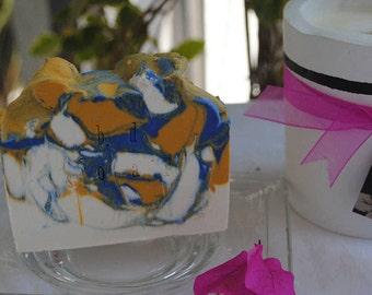 Men's Body Soap (Cedar wood + Mint).Handmade,Moisturizing,Father's Day Gifts,Brendadsoap.