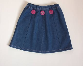 Girls Size 4T Denim Skirt