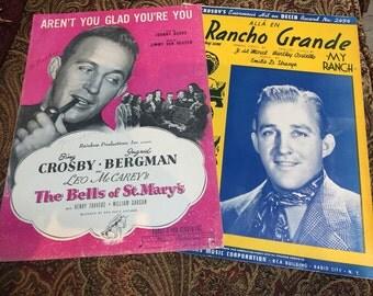 Bing Crosby Sheet Music