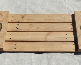 Pallet wood tray