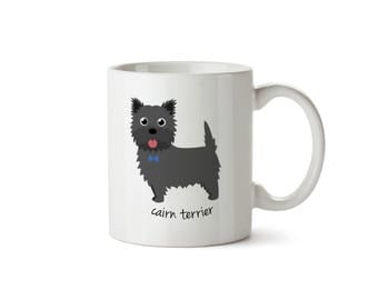Cairn Terrier Mug (boy)