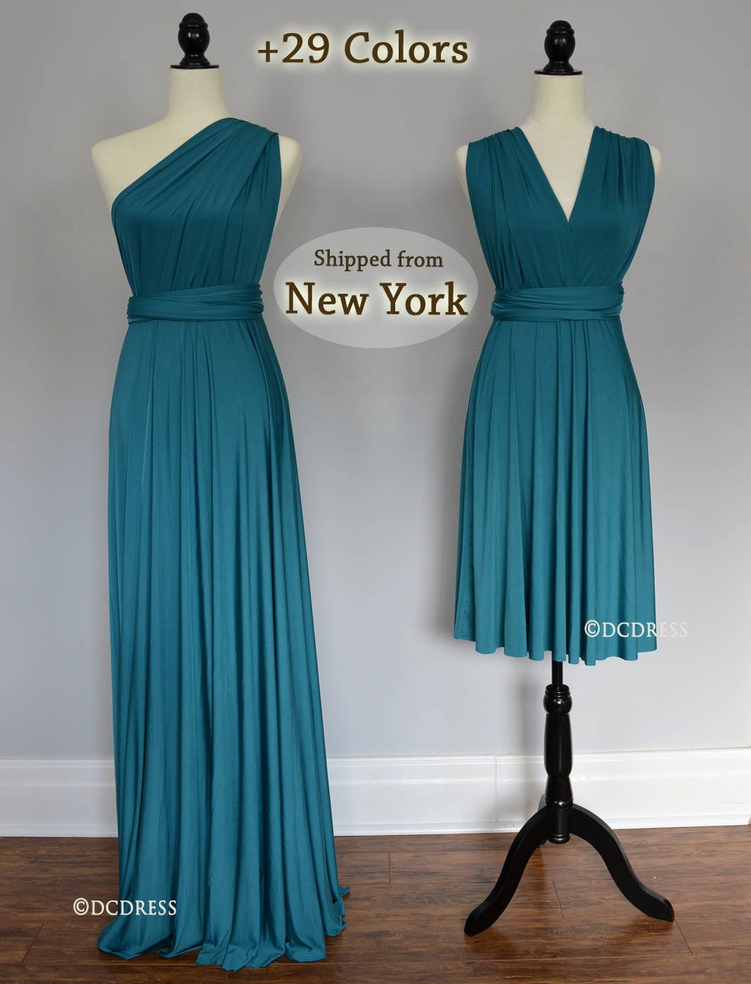 Teal green ball gown convertible bridesmaid dresses infinity zoom ombrellifo Gallery