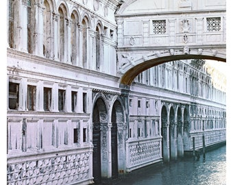 "Venice photography, Venice Italy, Bridge of Sighs, travel photography, Venice home decor, fine art photography, Venice architecture, 16""x20"""