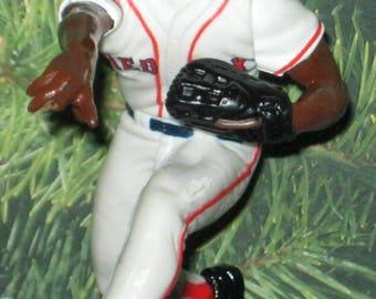Rare Pedro Martinez Boston Red Sox Ornament NEW MLB UPIC 17
