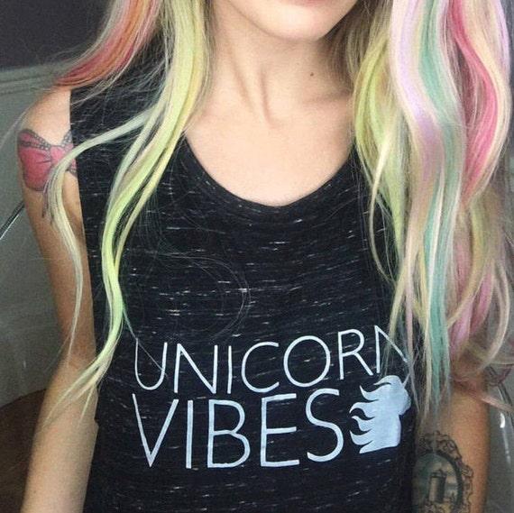 UNICORN VIBES Tee or Tank, Unicorn Vibes, Unicorn, Unicorns, Unicorn Tees, Unicorn Tshirt, Unicorn Shirt, Unicorn Tops, Unicorn Gifts