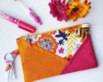 Boho Bright - Pencil Case, Zipper Pouch