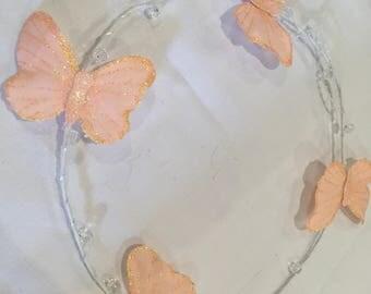Children Butterfly wreath