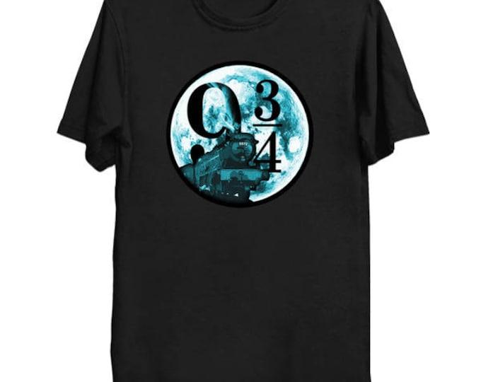 Night Express From 9 3/4 T-Shirt Harry Potter Hogwarts Train Shirt Geek Nerd Pop Culture Pottermore