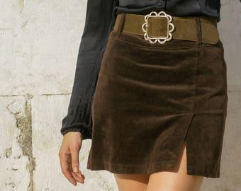 Vtg. Mini Skirt