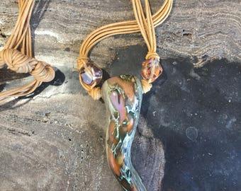 Unique Marble Necklace