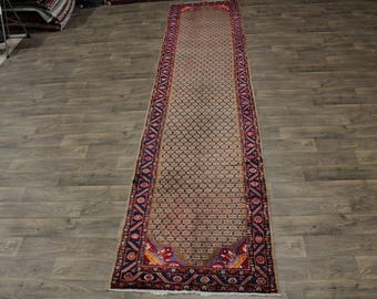 Amazing Rare Palace Size Runner Koliaie Persian Area Rug Oriental Carpet 3ʹ6X16ʹ