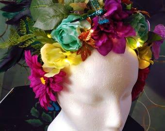 Lucid Dream LED Goddess Headdress
