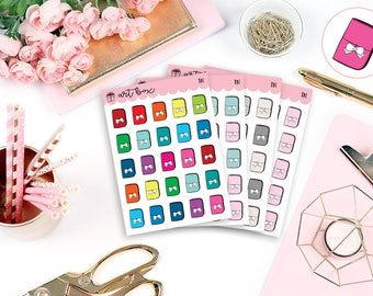 Multicolor   TN   Planner   Icons   Multiple Color Options