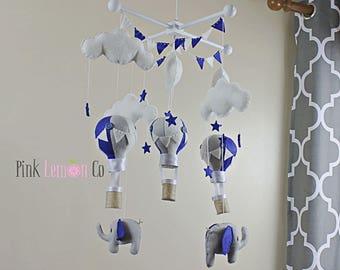 baby mobile - balloon baby mobile - hot air balloon mobile - hot air balloon nursery mobile - hat air balloon baby mobile - nursery decor