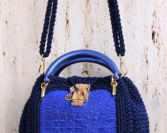 women bag mini Polli handmade hand made leather