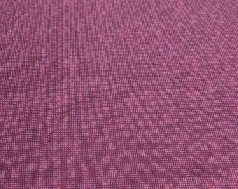 Dit Dot Flannel-Cranberry Cotton Flannel Fabric from In the Beginning Fabrics