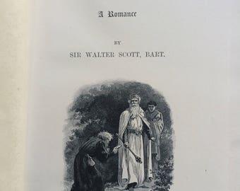 ivanhoe, a romance sir walter scott 1893