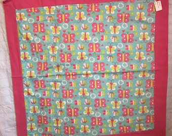 Baby Receiving Flannel Quilt