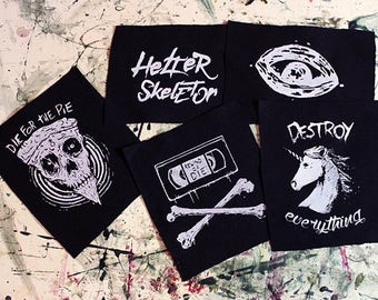 Set of 5 Patches