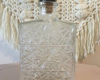 Crystal Whisky Decanter