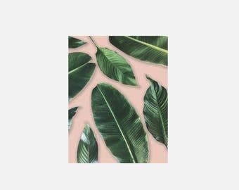 Leaf Lovers (Peach) Print