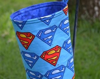 Superman Trash Bin - Small