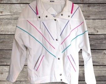 SALE - Vintage Neon Lined Jacket