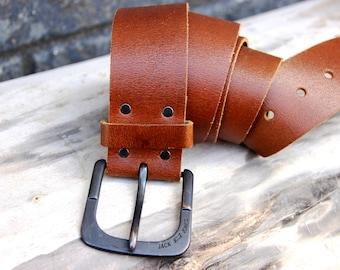 gift for Him men belt for men genuine leather belt Vintage leather accessories Fashion accessory mens leather belt brown belt  Size XL