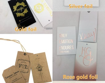 hangtags, custom hangtags for clothing, logo hangtags, clothing hangtags, gold hangtags, fashion hangtags