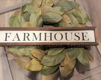 Farmhouse wood sign, Farmhouse kitchen decor, Farmhouse decor