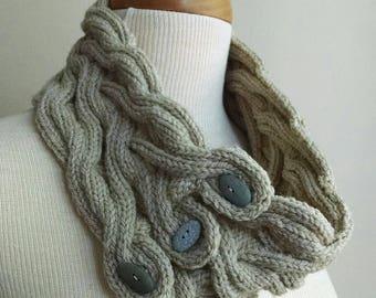 Bracken Moss Cowl Knitting Pattern