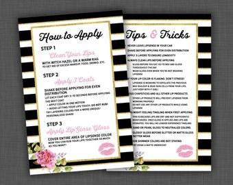 Lipsense, Tips and Tricks, Lipsense Tips, Lipsense Tricks, Lipsense Flyer, Lipsense Business, Lipsense Card