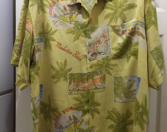 California Tommy Bahama Shirt