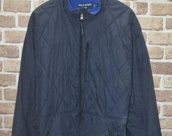 Vintage Polo Sport Ralph Lauren Quitted 90s jacket