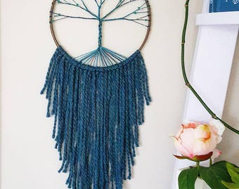 Tree of life dreamcatcher, tree dream catcher, large dreamcatcher, personalized baby nursery dreamcatcher, dream catcher, dreamcatcher
