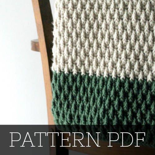 Pattern For The Alpine Blanket Crochet Baby Blanket