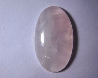 A+++ Natural Rose Quartz cabochon gemstone, Pink quartz gemstone, Rose quartz loose stone, Nice Rose quartz loose gemstone, 44Cts. #4427N