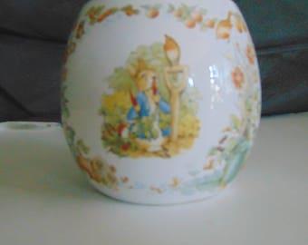 Beatrix Potter  spring vase