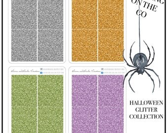 Glittery Planning on the go - Halloween Collection