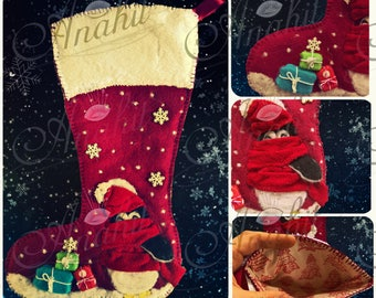 Penguin Collection 2017 - Too Cold - Christmas Stocking